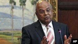 Le ministre sud-africain des Finances, Pravin Gordhan