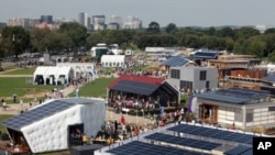 2011年大賽在美國首都華盛頓國家公園大草坪舉行