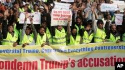 Протети во Лахоре против твитот од претседателот Трамп