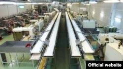 Цех фабрики Roshen. Липецк.