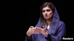 پاکستانی وزیرخارجہ حنا ربانی کھر