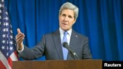 Menlu AS John Kerry dalam konferensi pers di London Selasa (16/12), memuji Rusia yang telah melakukan langkah konstruktif dalam krisis Ukraina.