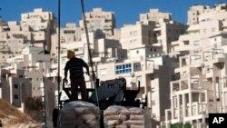 عکس آرشیوی از عملیات ساختمانی اسرائیل در اورشلیم شرقی
