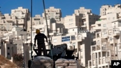 Le quartier de Har Homa à Jérusalem-est, le 2 novembre 2011
