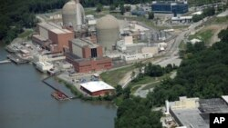 Indian Point Energy Center, 61 kilometers north of New York City on the Hudson River