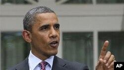 15일 백악관에서 이민법 개정안을 발표하는 바락 오바마 미국 대통령.