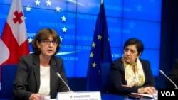 საგარეო საქმეთა მინისტრი მაია ფანჯიკიძე