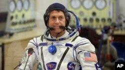 """""""Yo voté desde el espacio"""", dijo el astronauta Shane Kimbrough de la Estación Espacial Internacional."""
