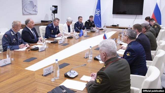 Bakıda NATO və Rusiya arasında görüş olub