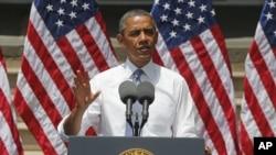 Tổng thống Obama kêu gọi có những thay đổi sâu rộng về chính sách để chống lại tác động của tình trạng biến đổi khí hậu.