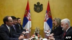 Zvaničnici MMF-a i Vlade Srbije na sastanku u Beogradu