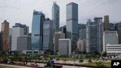 香港中环商业区