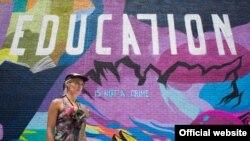 یکی از پوسترهای دیواری کمپین آموزش جرم نیست در محله هارلم در نیویورک