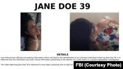 Thông tin chi tiết về người phụ nữ nói tiếng Việt đăng trên trang web của FBI.