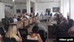 Sednica Srpskog nacionalnog foruma u Gračanici