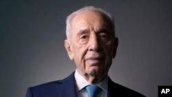 Shimon Peres, l'ancien Premier ministre et président israélien, le 8 février 2016. (AP /Oded Balilty)