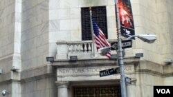 华尔街纽约股票交易所