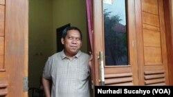 Direktur SIGAP Suharto di Yogyakarta. (Foto: Nurhadi Sucahyo/VOA)