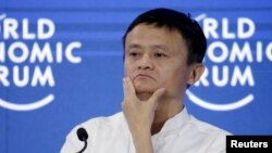 FILE - Jack Ma, Alibaba's chairman and CEO, says he'll preserve editorial independence for the South China Morning Post, a publication his company is buying. Others doubt that. He's shown Sept. 9, 2015.