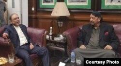 سراج درانی کو پیپلز پارٹی سندھ کے اہم رہنماؤں میں شمار کیا جاتا ہے — فائل فوٹو