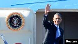 عکس آرشیوی از باراک اوباما رئیس جمهوری ایالات متحده