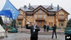 Khu nhà của ông Yanukovych ở Mezhyhirya gần thủ đô Kyiv của Ukraina