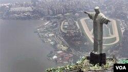 El domingo el presidente Obama viajará a la ciudad de Río de Janeiro.
