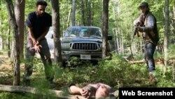 «جول اجرتون» در صحنهای از فیلم «در شب میآید» A24 Films