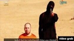 Nhà báo Sotloff bị bắt ở Syria hồi tháng 8 năm 2013. Ông làm việc cho các tạp chí Time và Chính Sách Đối ngoại.