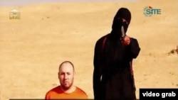 有關美國記者人質斯蒂芬‧索特羅夫的視頻