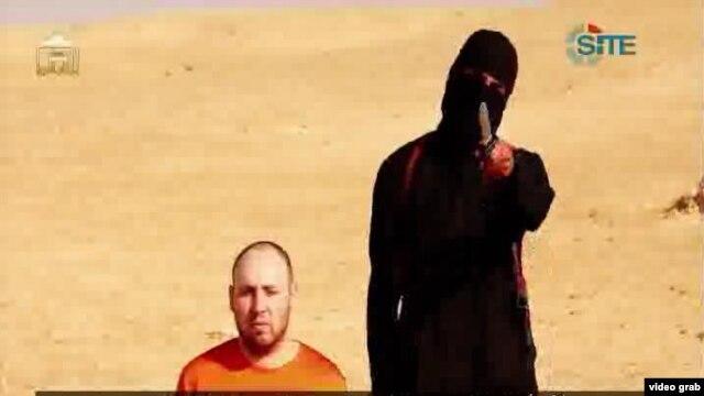 İŞİD daha bir amerikalı girovu edam edib