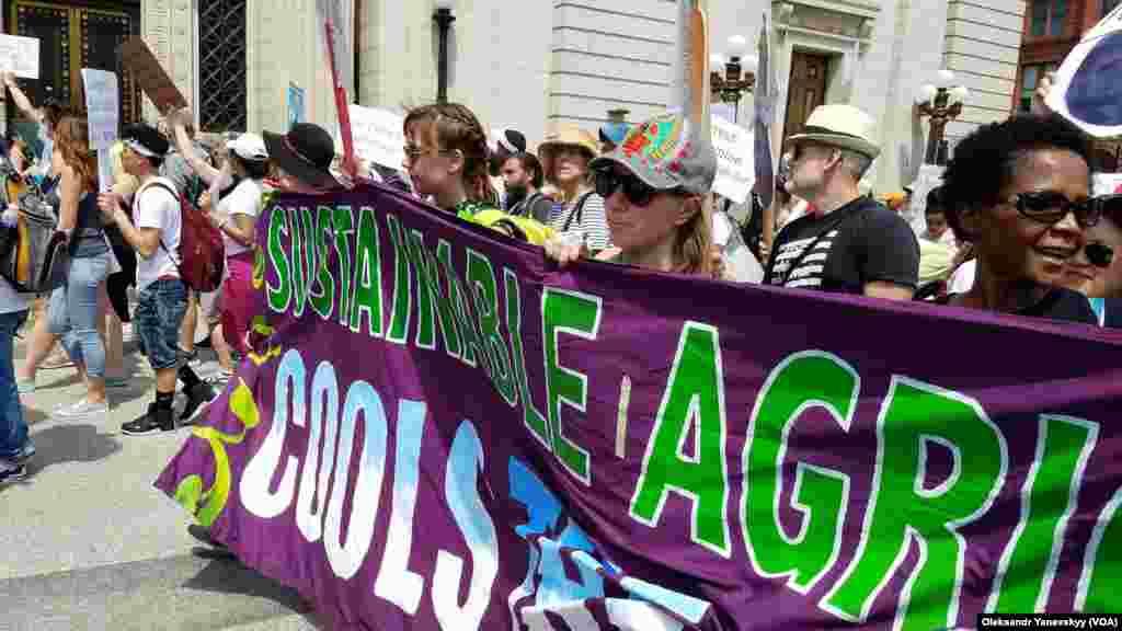 Марш протеста в Вашингтоне,Округ Колумбия