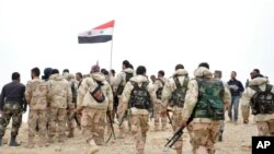 تصویر خبرگزاری دولتی سانا از حضور نیروهای ارتش سوریه در پالمیرا