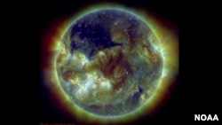 Astronomers Spot a Coronal Hole in the Sun