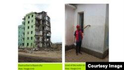 북한 라선시에서 프랑스 구호단체 '트라이앵글 제너레이션 휴머니테어'이 홍수 피해를 입은 유치원 복구 사업을 진행하고 있다. (사진 출처: '트라이앵글 제너레이션 휴머니테어' 웹사이트)