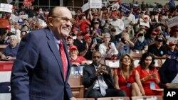 Los investigadores federales de Nueva York están investigando los negocios de Giuliani, inclusive la posibilidad de que nunca divulgó estar actuando en nombre de un estado extranjero.