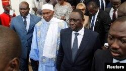L'ex-président sénégalais Abdoulaye Wade à Dakar, Sénégal, 2 avril 2012.