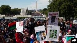 «Марш миллионов» в Вашингтоне. 10 октября 2015 г.