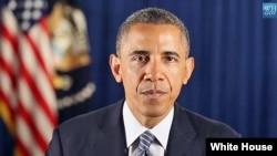 Еженедельное образение президента США Барака Обамы