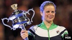 Kim Clijsters, tidak akan memperkuat Tim Piala Federasi Belgia.