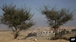 2일 이스라엘 예루살렘 근처 요르단강 서안 지역의 유대인 정착촌.