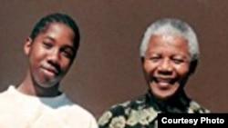 Ndaba Mandela writes about his grandfather, Nelson Mandela, in a new memoir. (Photo courtesy of Ndaba Mandela)