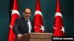 ابراهیم کالین سخنگوی ریاست جمهوری ترکیه - آرشیو