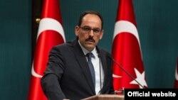 Peyvdarê Serokatiya Tirkiyê, Îbrahîm Kalin