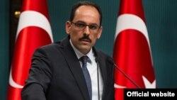 Juru bicara kepresidenan Turki, Ibrahim Kalin (foto: dok).
