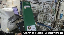 With the help of NanoRacks, the Chinese experiment flew on the SpaceX CRS-11 Dragon spacecraft to the International Space Station in June 2017.