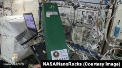 NanoRacks 把來自中國的實驗送進國際太空站。