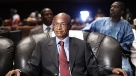 Cellou Dalein Diallo at the People's Hall in Conakry, September 2010 file photo.