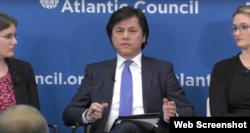 维吾尔人权项目主席努瑞·图尔克(网络截图)