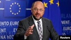 Ketua parlemen Eropa Martin Schulz mengatakan bahwa laporan pengintaian oleh badan intelijen AS akan sangat merusak hubungan UE-AS (foto: dok).